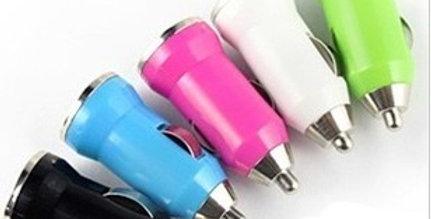 mini USB car charger 5V/1.0A