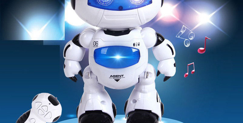 RC Robot Toy Remote Control Musical Electronic Toy