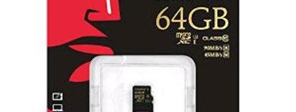 64GB Class 10 UHS-I U1 Micro SDHC/SDXC Card