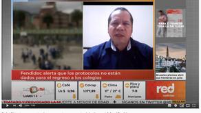 Juan Carlos Almirola. Presidente de USDIDEA, se pronuncia frente a la Alternancia.