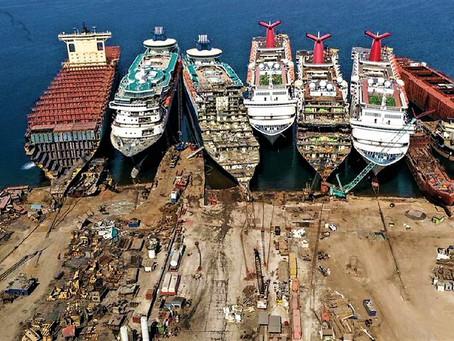 4 barcos que pasan a ser chatarra por culpa del Covid