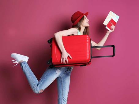 Cuando viajes, ojo con tu maleta de mano, ya la debes poner aquí...