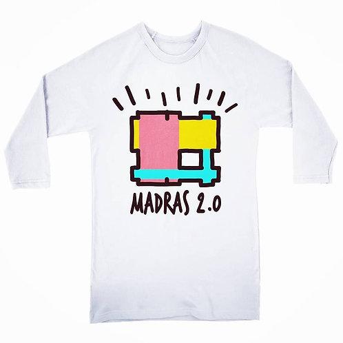 Tshirt Madras 2.0 manches longues