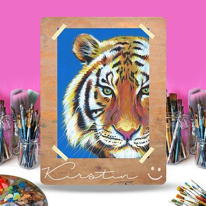 11 July: Rainbow Tiger art class