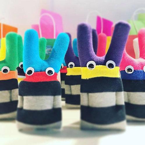 Bunny Sock Monster