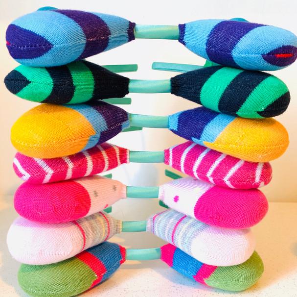 Sock Monster Headbands