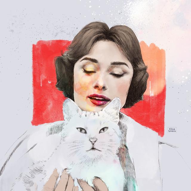 Audrey | A4 Digital Painting