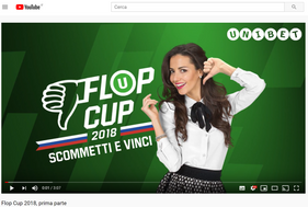 Unibet Flop Cup - Youtube video