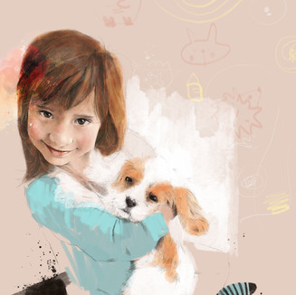 Stella   A3 Digital Painting