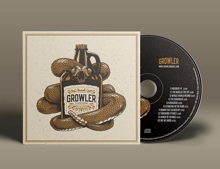 Growler Bluegrass – Self-Titled Album