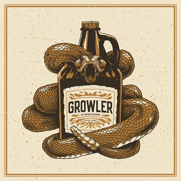 Growler Bluegrass Self-Titled Album