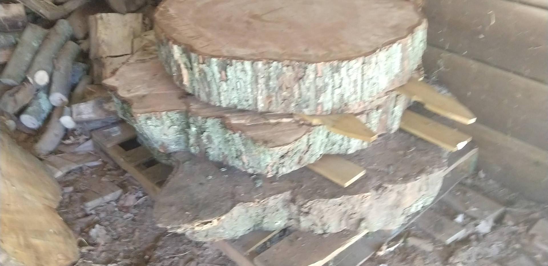 slabs drying