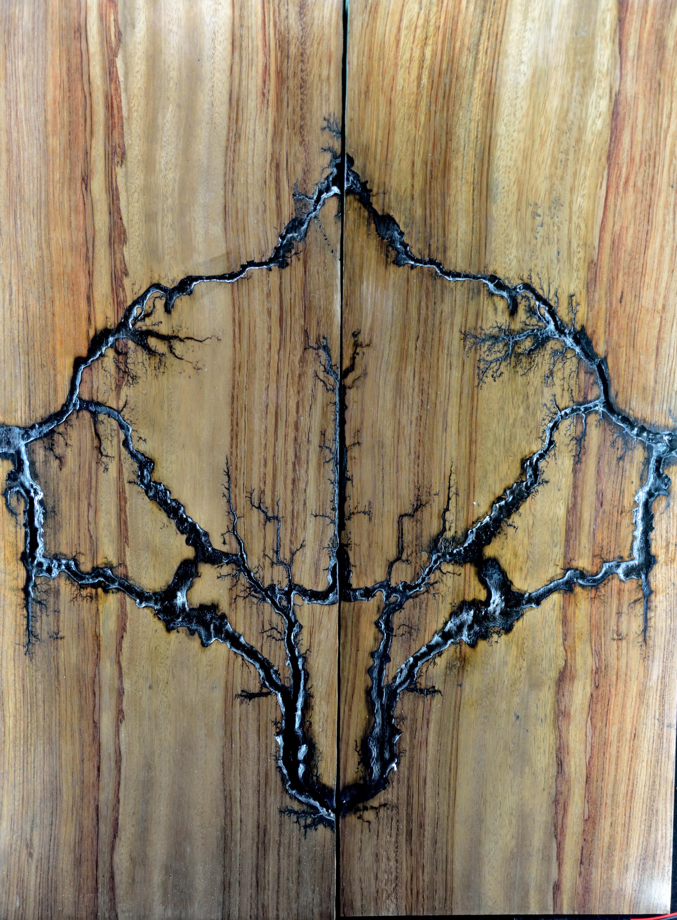 Bubinga Mirror Image Pattern