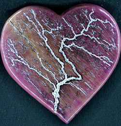 Purpleheart Heart