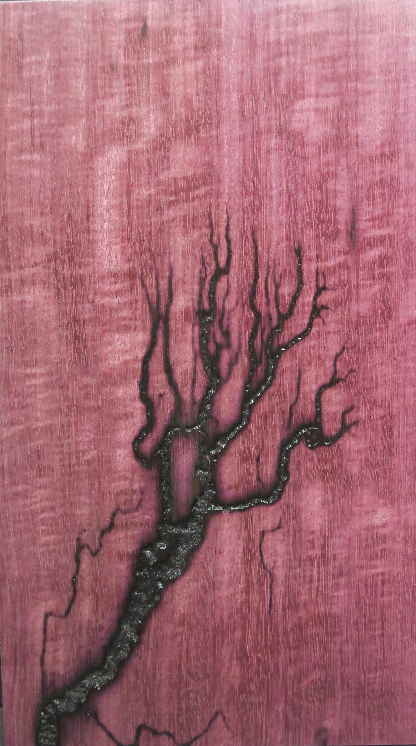 Heat Trails on Purpleheart