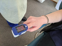 6. Check Pulse Oxygen Saturation (to avoid asymptomatic COVID 19 carriers)
