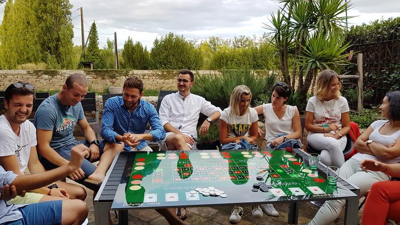 casino du vin à Pézenas