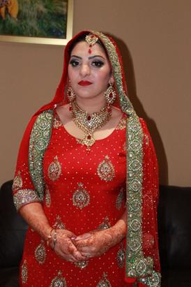 Indian Asian Bride Wedding Makeup