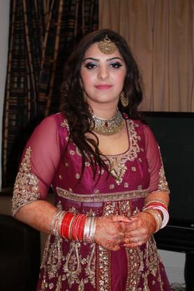 Asian Indian Wedding Bridal Makeup