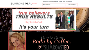 Web Design Spotlight: Slimroast Gal Boutique