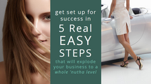 Set Up For Success in 5 Easy Steps That Will Explode Your Valentus Business to a Whole 'NUTHA Le