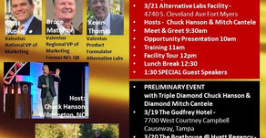 Valentus Florida Events March 2020