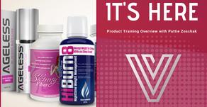 Valentus Skinny Body Care Product Overview with Diamond, Pattie Zoschak