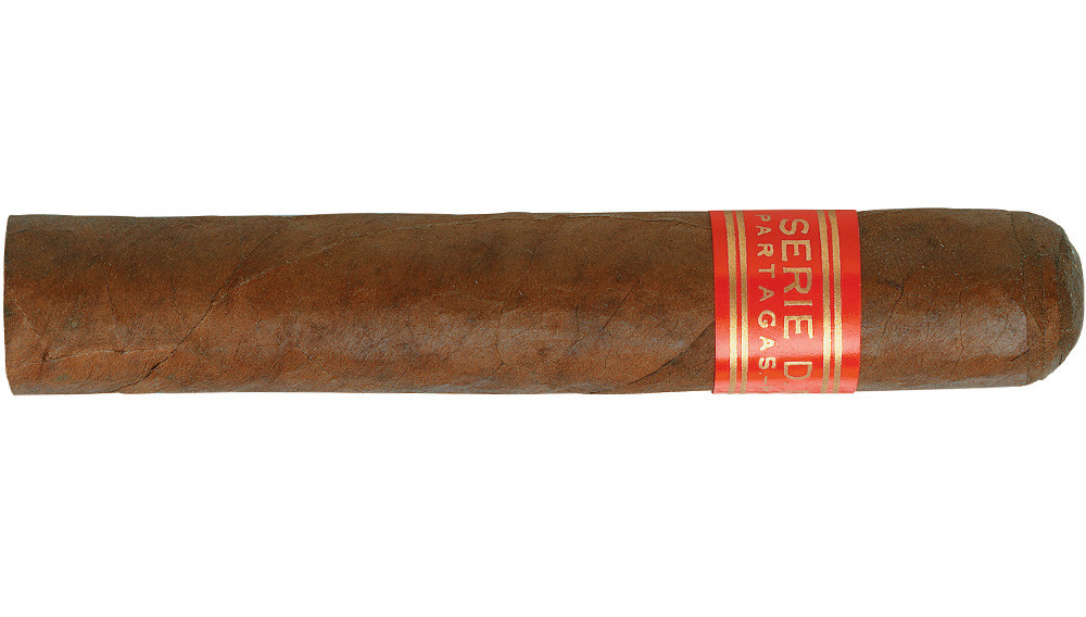 The Partagás series D, No. 4 robusto is a popular size for this powerhouse brand. It is tantamount to smoking a porterhouse steak; if you have an hour and a half to spare, try a Lusitania.