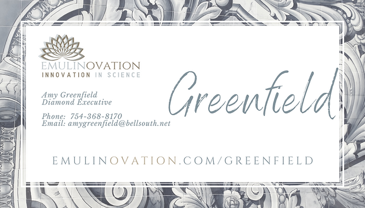 Amy Greenfield Business Card