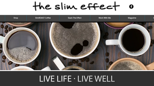 Web Design Spotlight: The Slim Effect