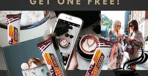 Buy 1 SlimRoast Cocoa, Get 1 Free