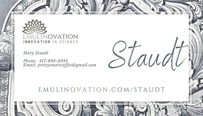 Mary Staudt Business Card