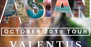 Asian Tour October 2019