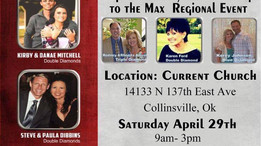 April 29, 2017 - The Prevail Method Presents: Super Saturday Breakthrough to the Max Regional Event