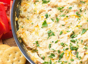 Spicy Chicken Dip Is On the Low Carb Menu