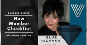 New Member Checklist With Blue Diamond, Karen Ford