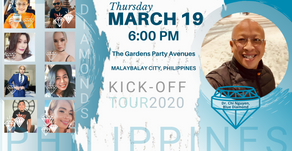 Philippines Kick-Off Tour 2020 (March 19)