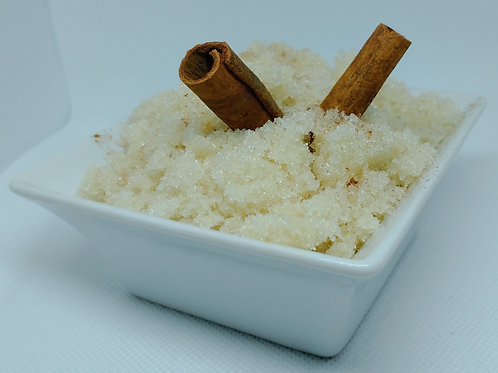Cinnamon Stix: Exfoliating Cinnamon Scented Sugar Scrub (small - 4 oz.)