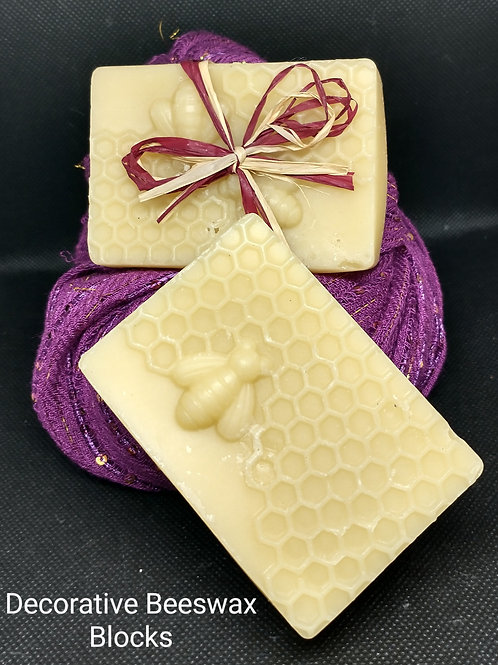 Decorative Beeswax Block (3 oz. - unscented)