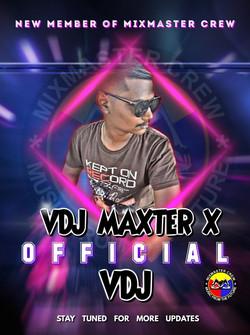 VDj Maxter X