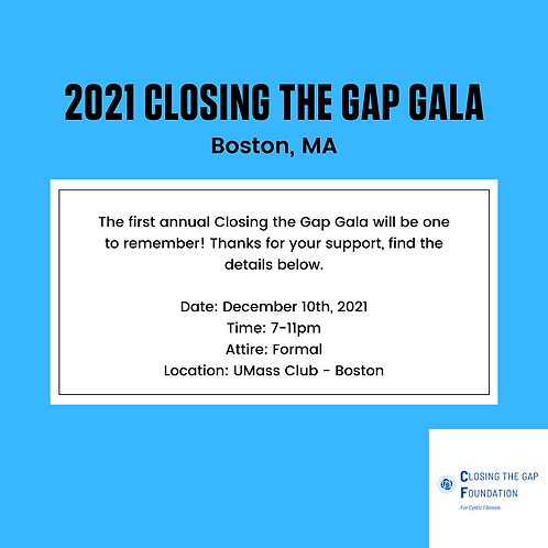 2021 Closing the Gap Gala Ticket