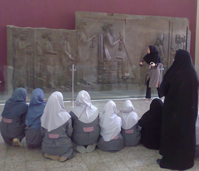 School Visit Tehran Museum