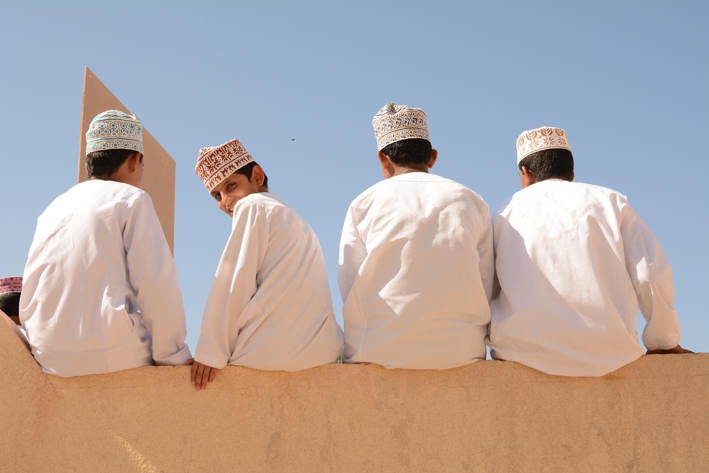 Omani boys