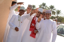 Oman school boys