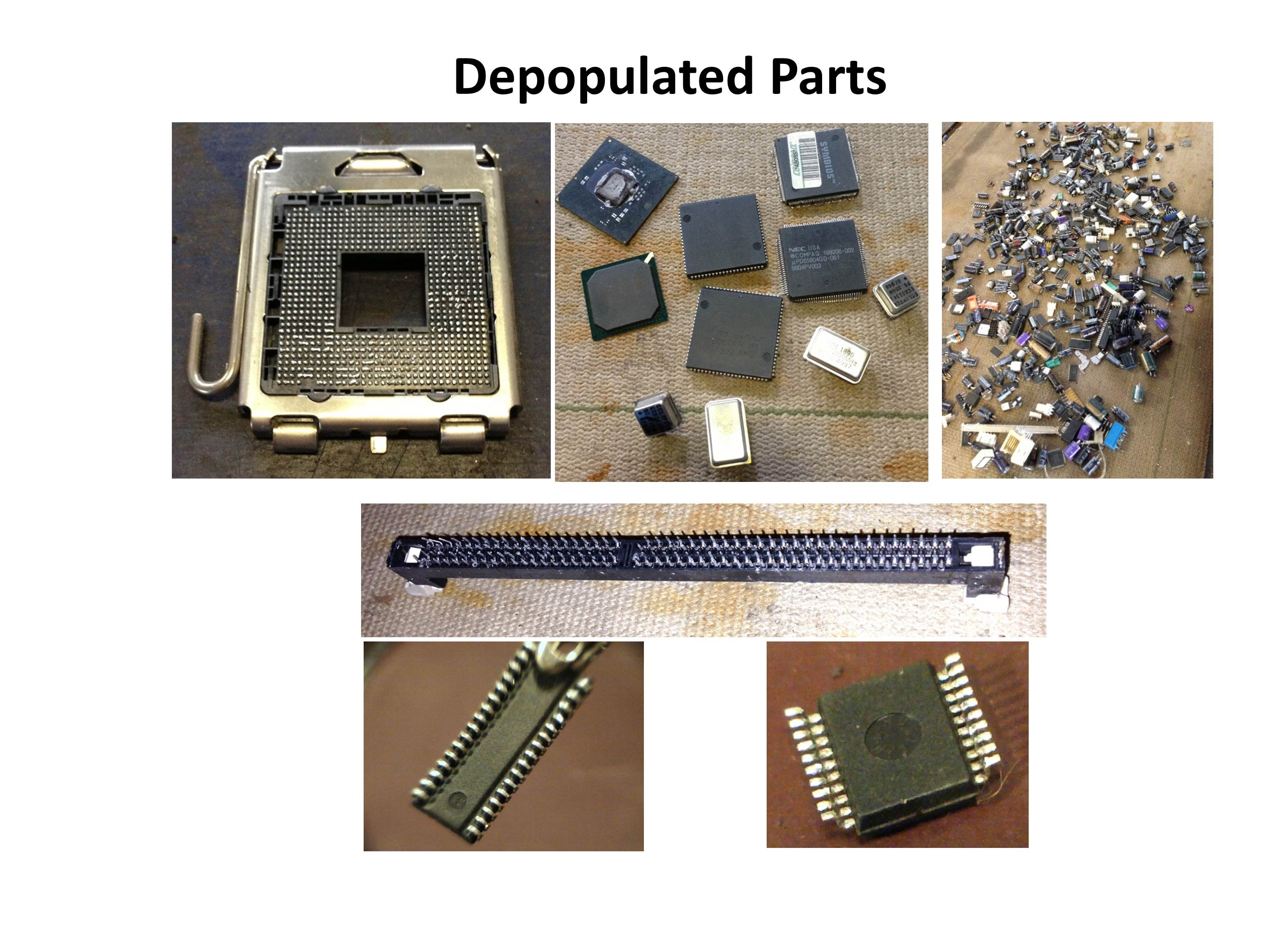 Sample of Depopulated Parts 2-1
