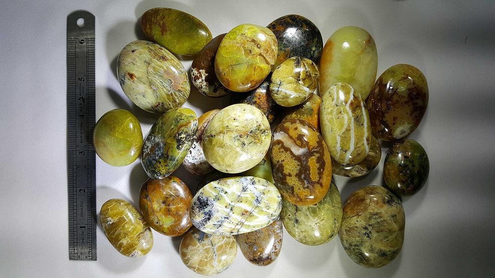 Green Opal Pebbles