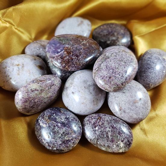 Lepidolite Palmstone