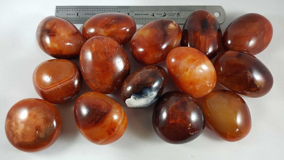 Carnelian Agate Pebbles