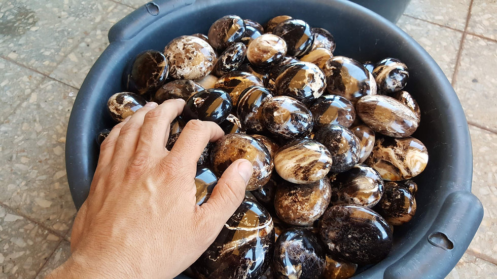 Black Opal Pebbles