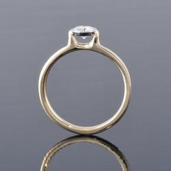 diamond engagement ring side